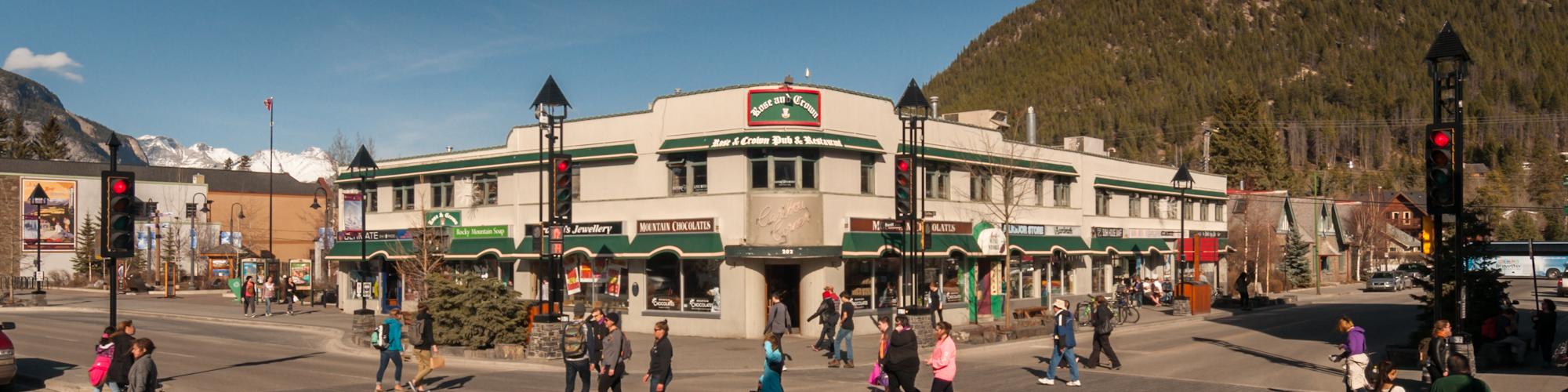 Banff Caribou Corner Mall